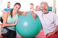 Trainings- und Gymnastikgeräte zur Rehabilitation