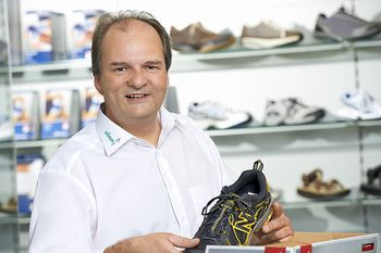 Christof Kieninger – Orthopädieschuhtechniker, technischer Betriebsleiter