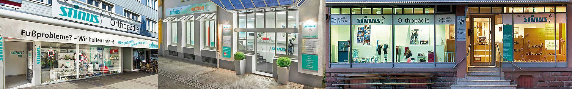 Stinus Orthopädietechnik: Achern, Bühl, Offenburg - Sanitätshaus